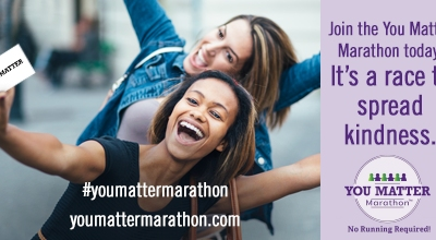 It's Almost Fall Y'All – Time to Sign-up for the You Matter Marathon!